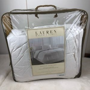 Lauren Ralph Lauren White Down Comforter Twin